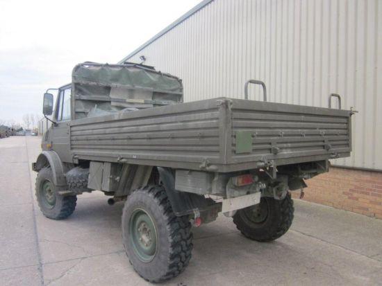 Mercedes unimog U1300L PTO winch truck 4x4 for sale