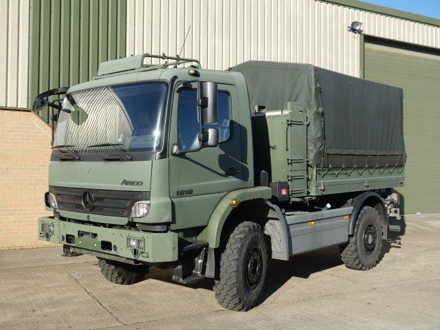Mercedes-Benz Atego 1018 4x4 Cargo truck | used military vehicles for sale