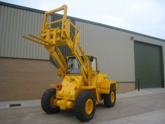 WAS SOLD JCB 410M 4x4 forklift