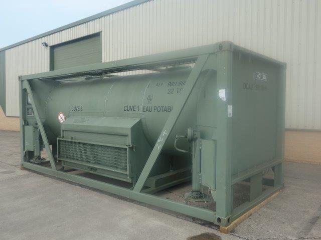 20FT ISO Potable Water Tank Containers | Military Land Rovers 90, 110,130, Range Rovers, Mercedes for Sale