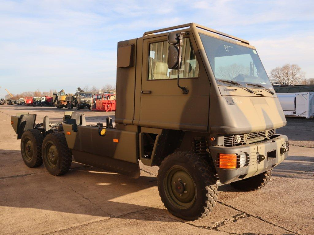WAS SOLD Mowag Duro II 6x6 Chassis Cab