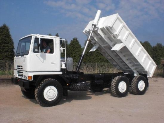 Bedford TM 6x6 Tipper Truck for sale