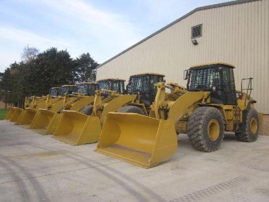 WAS SOLD Caterpillar 950 H   wheeled loader
