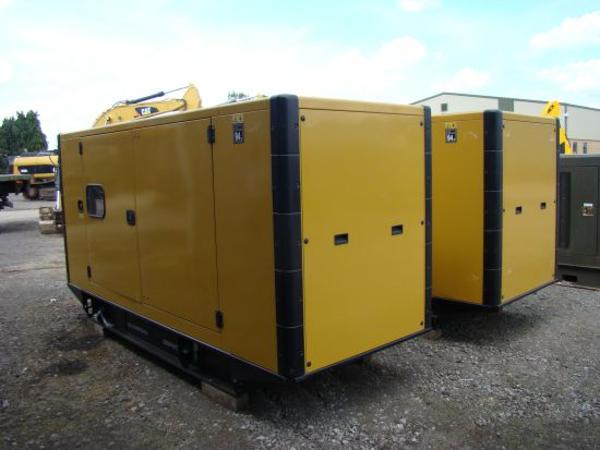 NEW  Caterpillar Olympian 200 KVA silent generator set. for sale