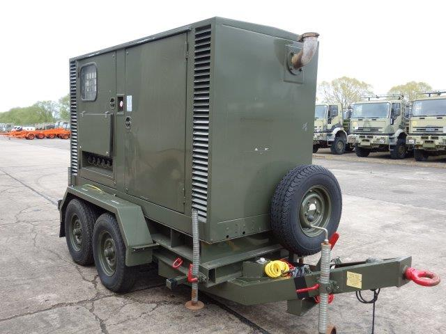 Hunting 150 KVA Trailer Mounted Generator  (MOD and NATO Disposals)