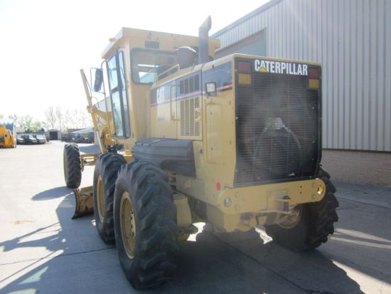 Caterpillar 12 H motor grader  for sale . The UK MOD Direct Sales