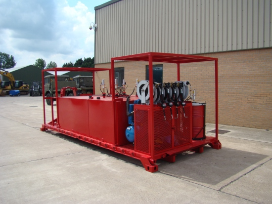 De-mountable Skid Lube / Service Station for sale | military vehicles