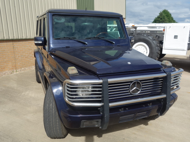 Armoured Mercedes G500  Wagon SUV 4x4 | used military vehicles, MOD surplus for sale