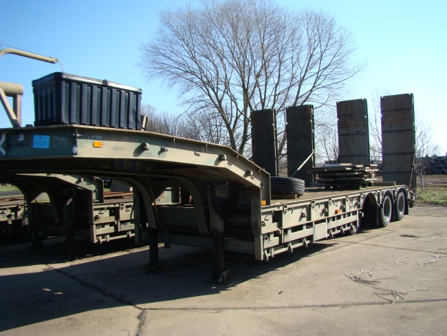 Trailmaster TS45 45,000kg semi low bed  EX.MOD  trailer  military for sale