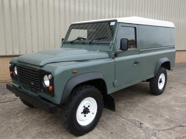 SOLD Land Rover Defender 110 TDCi Hard Top | used military vehicles, MOD surplus for sale