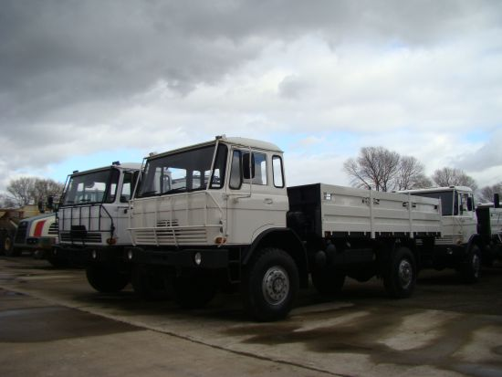 DAF YA4440 4x4 Drop Side Cargo Truck  for sale. The UK MOD Direct Sales