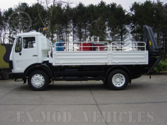Mercedes 1017 4x4 Lube Truck | used military vehicles, MOD surplus for sale