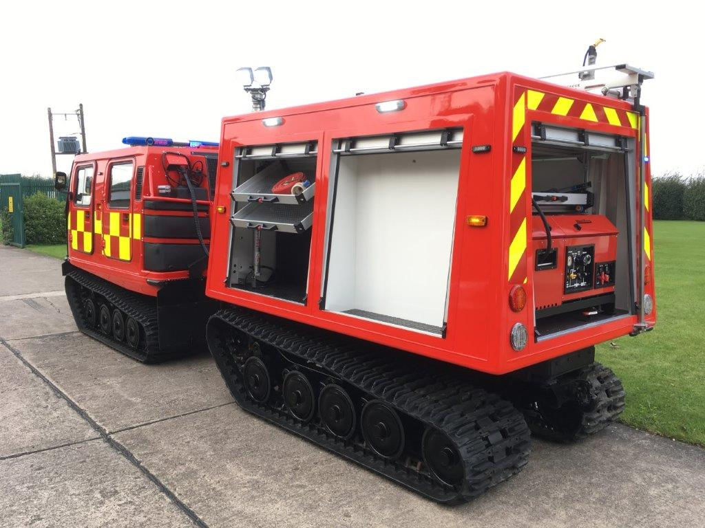 Hagglunds BV206 ATV Fire Engine (Fire Chief) | used military vehicles, MOD surplus for sale