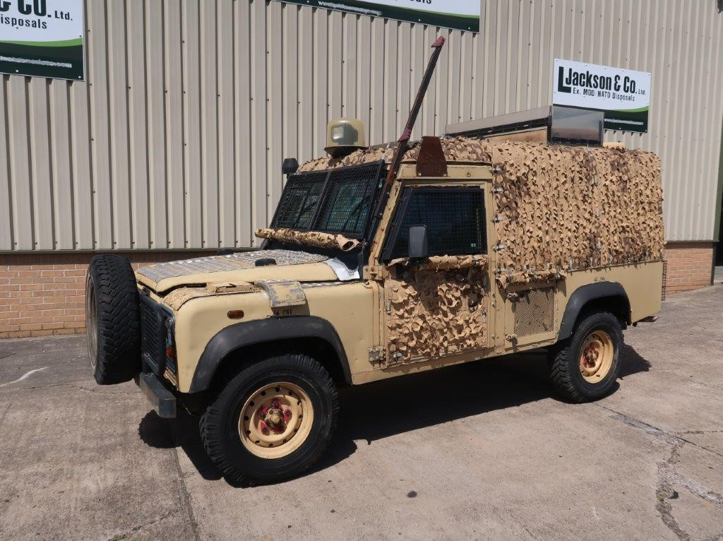WAS SOLD Land Rover Snatch 2A Armoured Defender 110 300TDi
