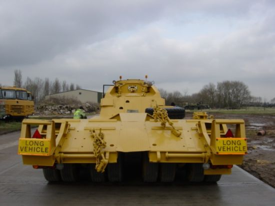 Nicolas 45,000 kg EX.MOD tank transporter trailer | used military vehicles, MOD surplus for sale