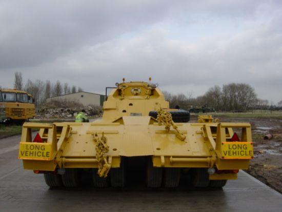 Nicolas 45,000 kg EX.MOD tank transporter trailer  military for sale