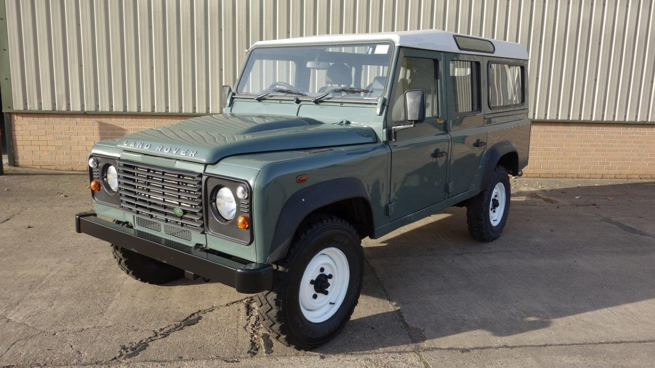 Land Rover Defender 110  Station Wagons RHD  for sale . The UK MOD Direct Sales