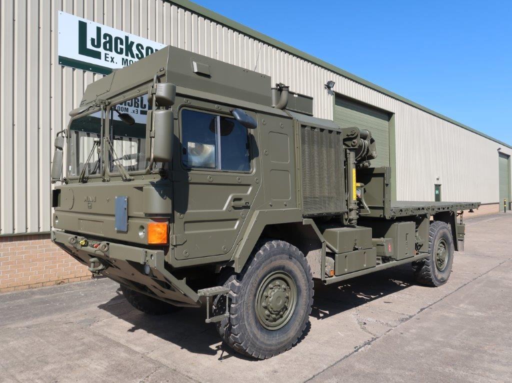 MAN 4x4 HX60 18.330 Crane Truck