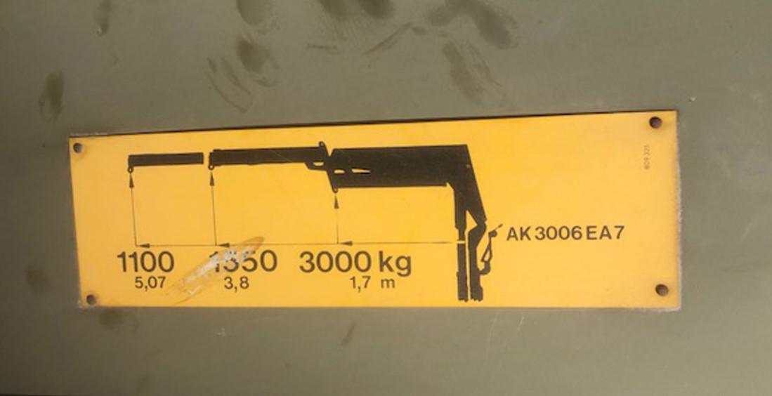 Atlas AK3006 crane for sale