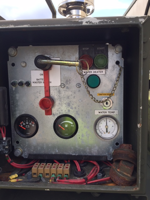 Boughton Water Bowser Trailer with Heating System   used military vehicles, MOD surplus for sale
