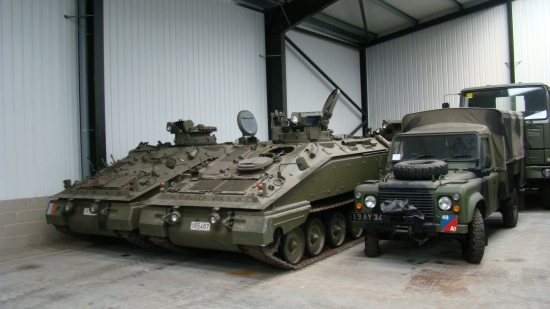 Spartan FV103  Armoured vehicles |  EX.MOD direct sales