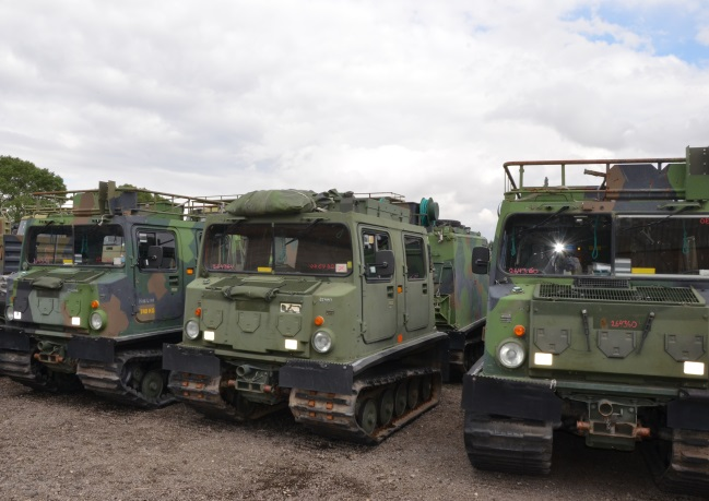 Hagglunds BV206 Personnel Carrier (Petrol/Gasolene) for sale | military vehicles