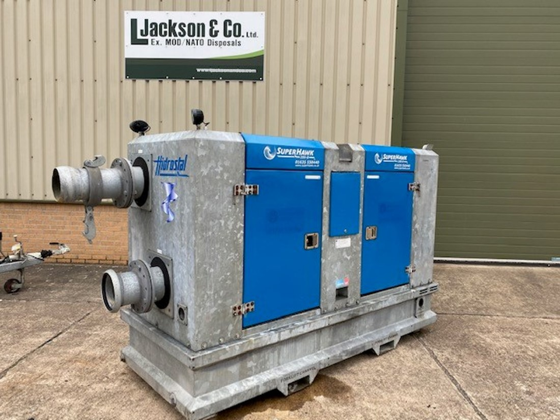 WAS SOLD Hidrostal SuperHawk 200-8 water pump