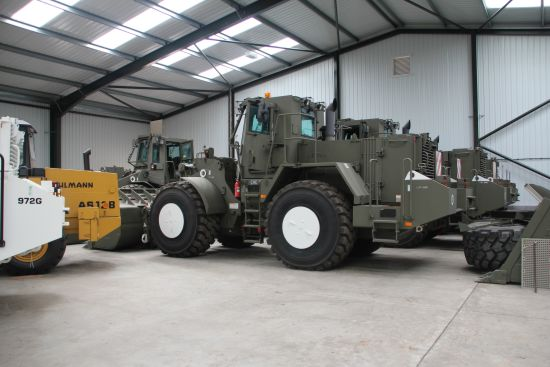 Caterpillar Wheeled dozer  972G Armoured Plant Ex military vehicles for sale, Mod Sales, M.A.N military trucks 4x4, 6x6, 8x