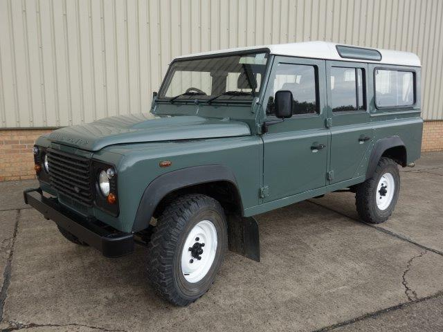 Land Rover Defender 110 TDCi Station Wagon RHD | used military vehicles for sale