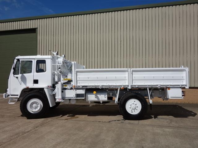 Leyland Daf 4x4 RHD crane truck for sale