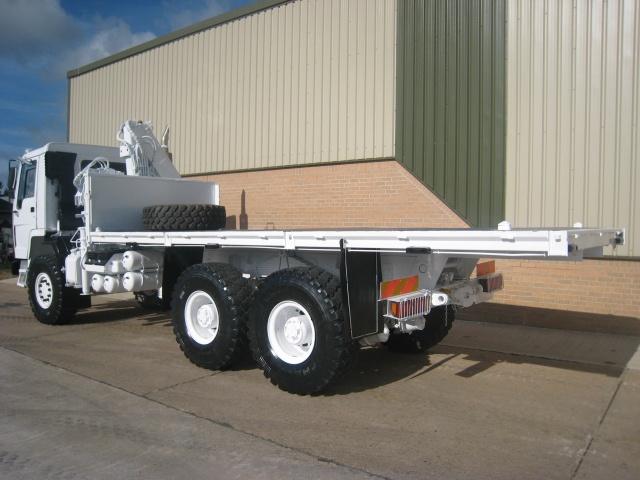 Volvo FL12 6x6  cargo platform truck for sale