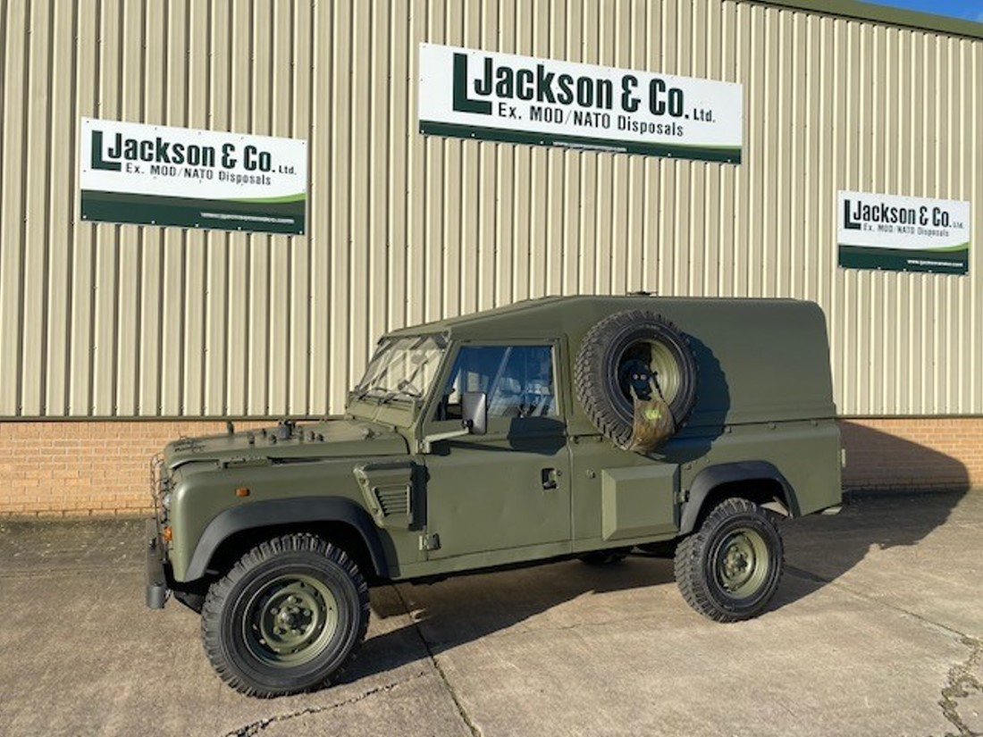 Land Rover Defender Wolf 110 RHD hard top (REMUS) for sale | military vehicles