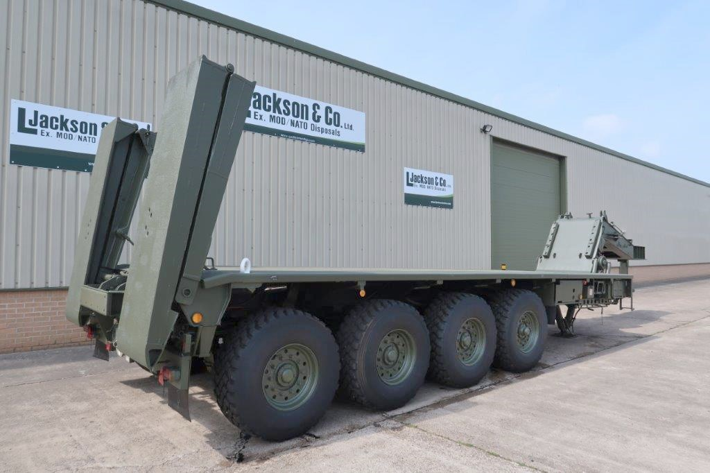 Faun Kassbohrer SLT-50-2 Semi trailer