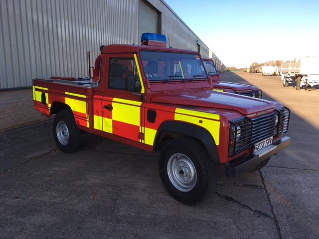 Land Rover 110 Fire Engine |  EX.MOD direct sales