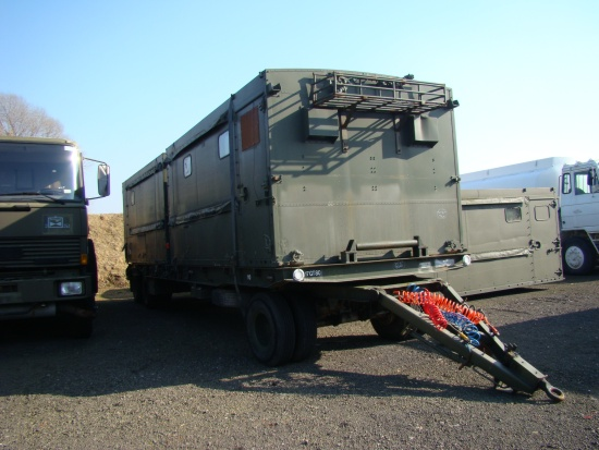 De - mountable workshop body  for sale