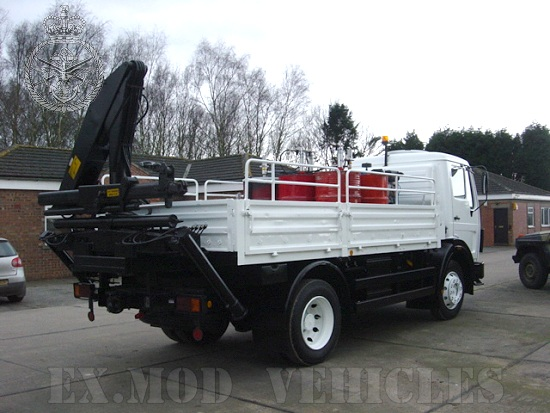 Mercedes 1017 4x4 Lube Truck for sale