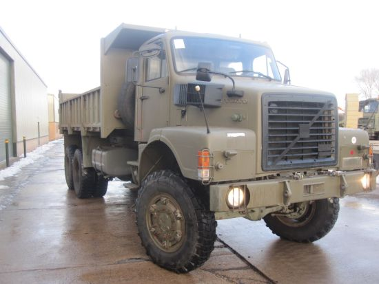 Volvo N10 6x6 tipper truck for sale