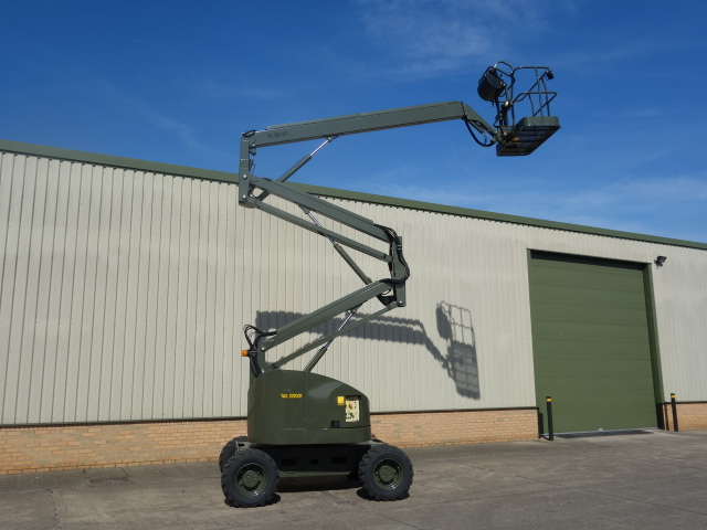 Terex TA50 RT rough terrain 4x4 boom lifts  for sale. The UK MOD Direct Sales