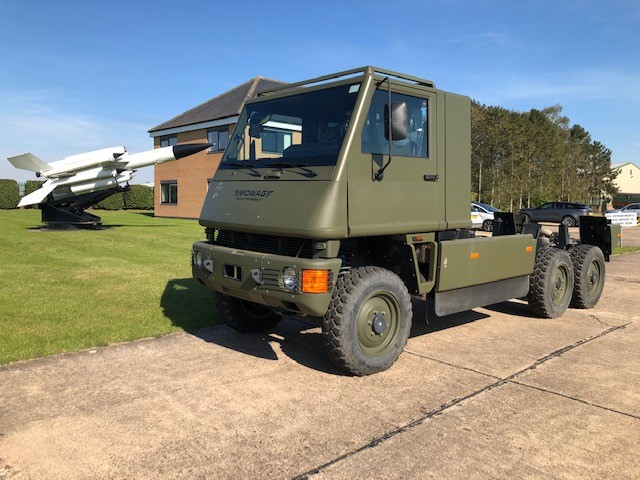WAS SOLD Mowag Duro II 6x6 Chassis Cab 50302