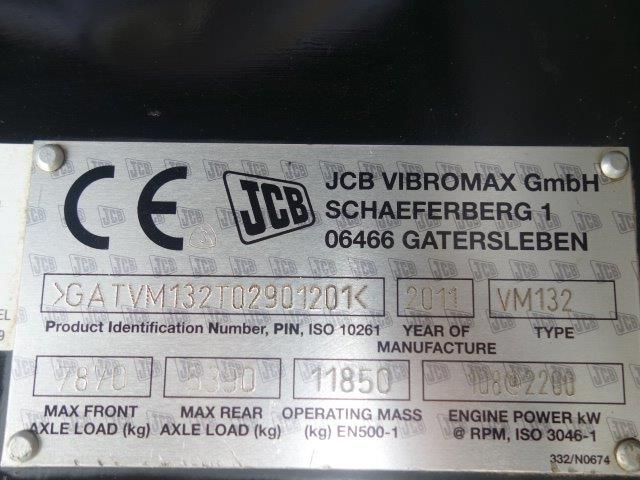 JCB Vibromax VM132D Roller | used military vehicles, MOD surplus for sale