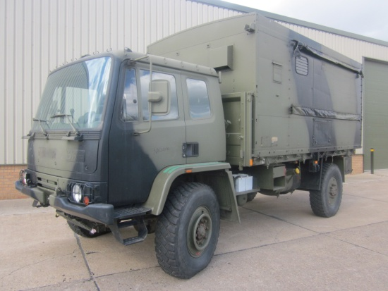 Leyland Daf 4x4 workshop truck | used military vehicles, MOD surplus for sale