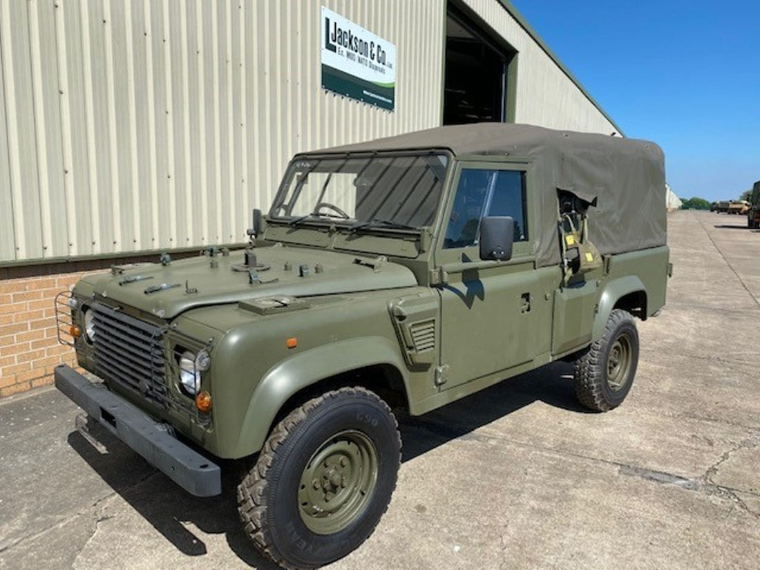 Land rover 110 Wolf RHD with REMUS upgrade | Military Land Rovers 90, 110,130, Range Rovers, Mercedes for Sale