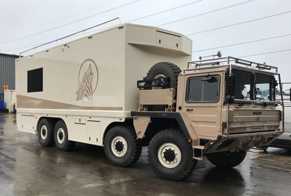 MAN Cat  A1 8X8 OVERLANDER bus for sale | military vehicles