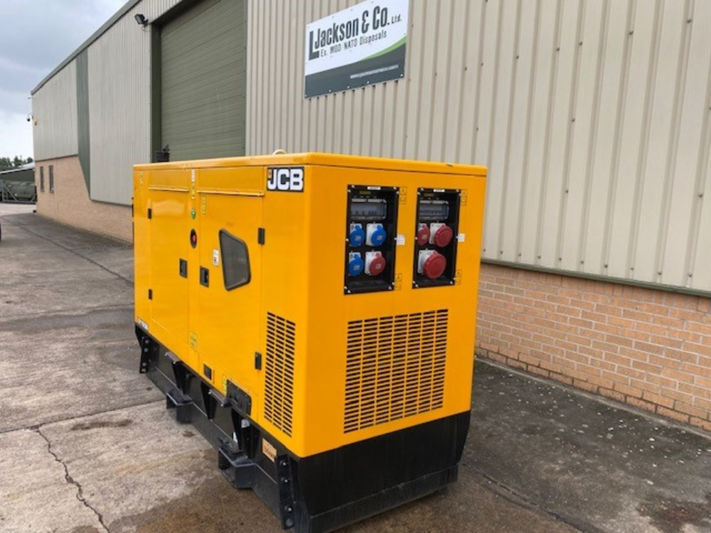 Unused JCB 110 KVA Silent Generators  for sale