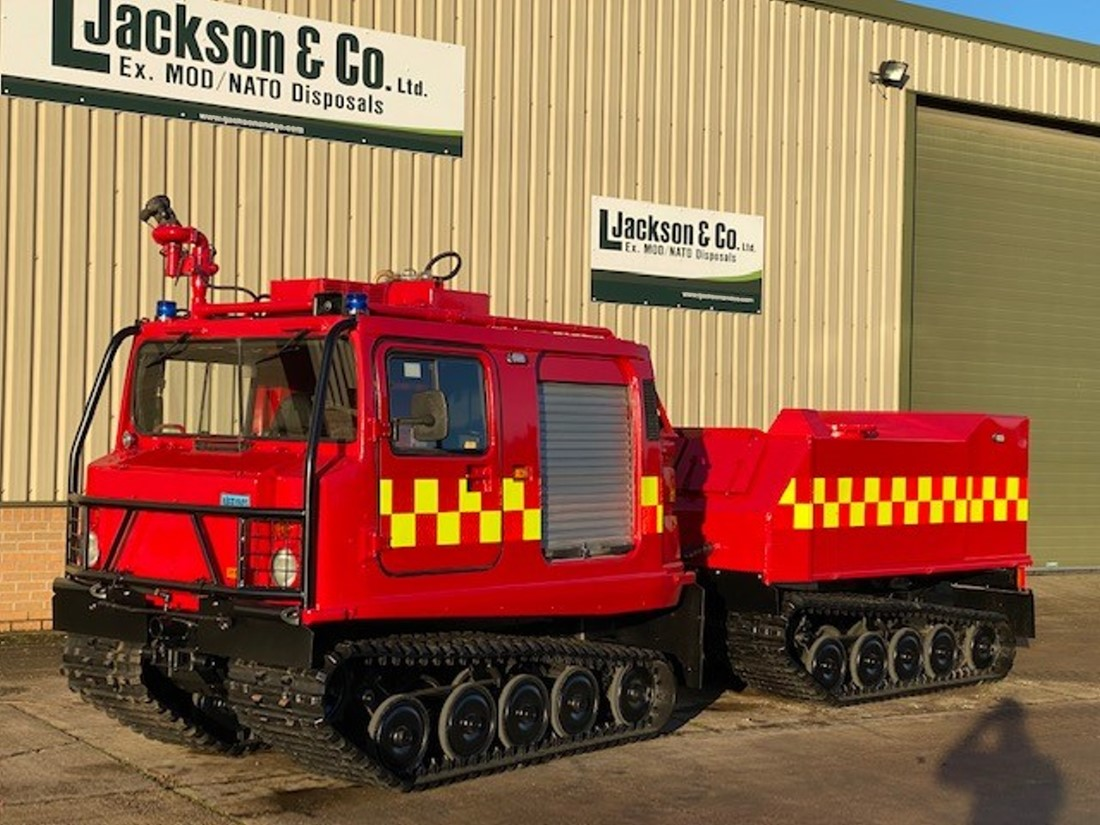 Hagglund BV206 ATV  Fire Appliance for sale | military vehicles