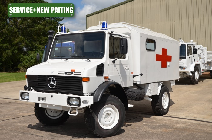 Mercedes Unimog U1300L Ambulance | Military Land Rovers 90, 110,130, Range Rovers, Mercedes for Sale