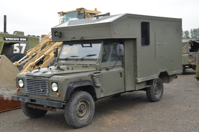 Land Rover 130 Defender Wolf RHD Evac Unit for sale | military vehicles