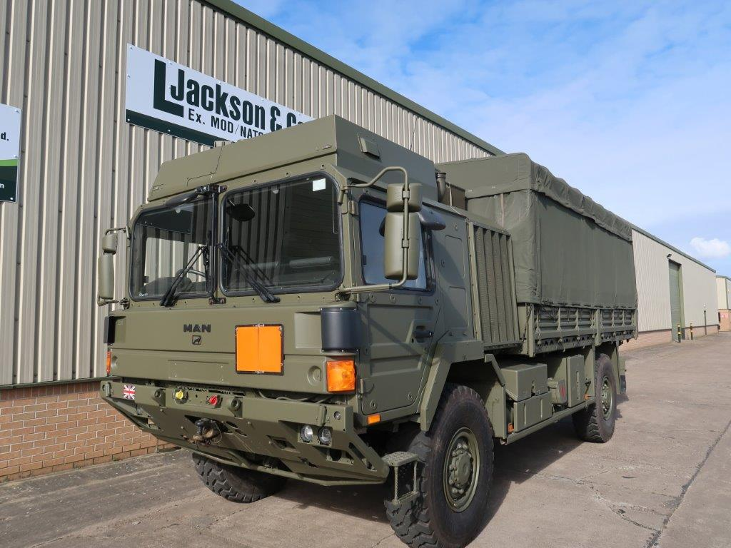 MAN HX60 18.330 4x4 Cargo Winch military Truck for sale | military vehicles