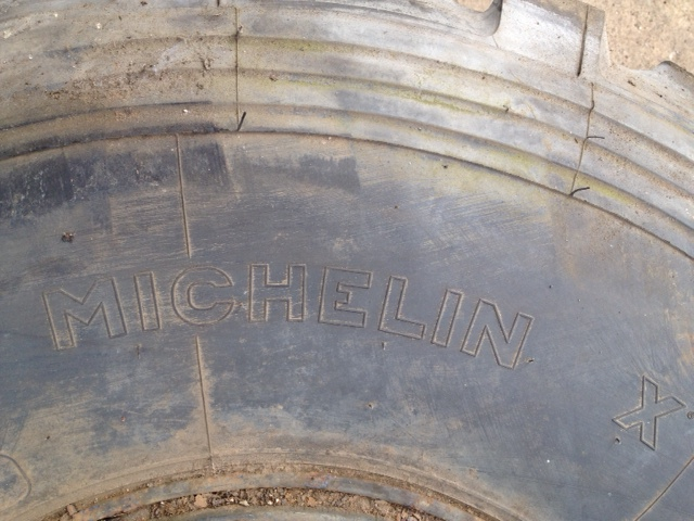 Michelin 525/65 R20.5 tyres | used military vehicles, MOD surplus for sale