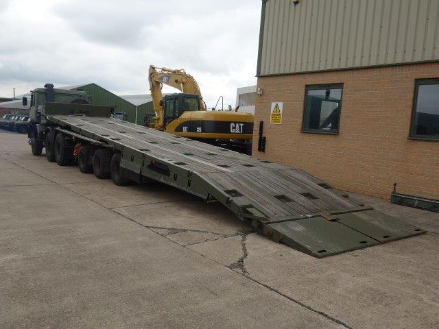 WAS SOLD Oldbury Sliding Deck Recovery Trailer